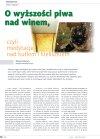 O wyższości piwa nad winem