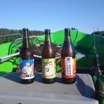 łódka piwo